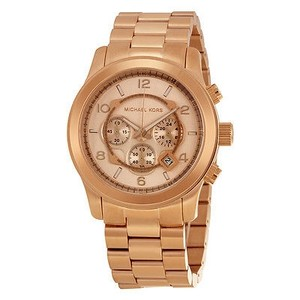 Michael Kors Michael Kors Runway Chronograph Rose Gold-tone Mens Watch