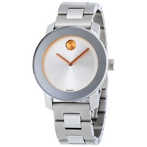 Movado Movado Bold Silver Dial Stainless Steel Watch