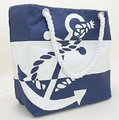 Other Tote in Blue and White Image 1