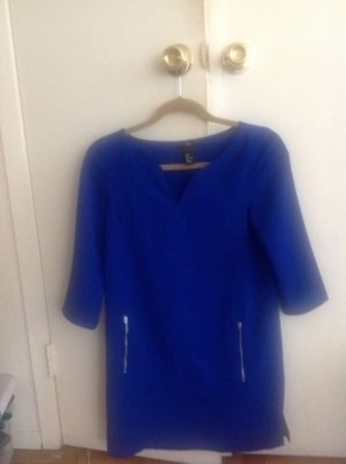H&M short dress bluish purple on Tradesy