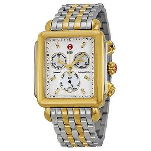 Michele Michele Deco Day Two-tone Stainless Steel Ladies Watch