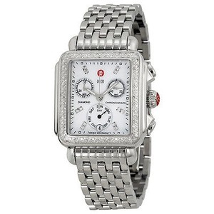 Michele Michele Deco Day Mother Of Pearl Dial Diamond Ladies Watch