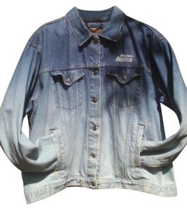 Harley Davidson Ombre Womens Jean Jacket