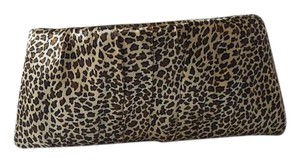 Steve Madden Tan/brown Leopard Clutch