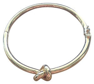 Kate Spade Gold Knot Hinge Bangle