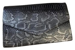 Gianni Bini Silver And Black Clutch