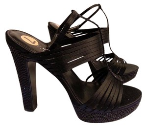 Ralph Lauren Evening Sandal Pump Black Sandals