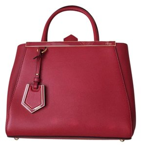 Fendi 2jours Satchel in Red