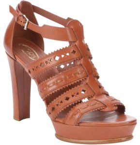 Tod's Luxury Made In Italy Brown Platforms