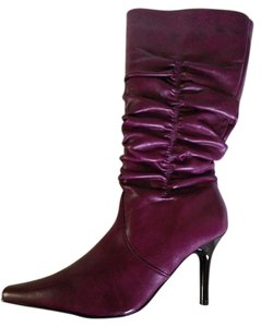 Chinese Laundry Zipper Plum Boots