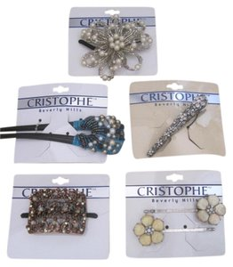 Cristophe Beverly Hills 5 pack of Cristophe Beverly Hills Hair Accessories