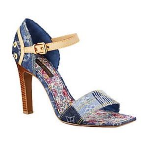 Louis Vuitton Denim blue Pumps