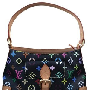 Louis Vuitton Multicolor Eliza in Noir Hobo Bag