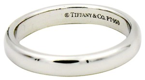 Tiffany & Co. Lucida 3mm Band Ring in 950 Platinum Size 5.25