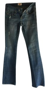 Antik Denim Boot Cut Jeans-Distressed
