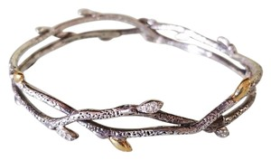 Stephen Dweck Stephen Dweck Diamonds Fortuna Sterling Silver Bangle Bracelet