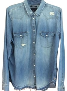 American Eagle Outfitters Top Denim