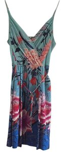 Yumi Kim short dress Multi floral Geisha Silk Wrap Waist on Tradesy
