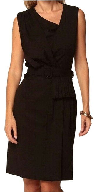Preload https://item1.tradesy.com/images/black-knee-length-workoffice-dress-size-8-m-1953105-0-0.jpg?width=400&height=650