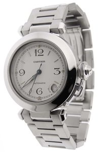 Cartier Cartier Pasha C 2324 Stainless Steel Automatic 35mm Date Analog Watch