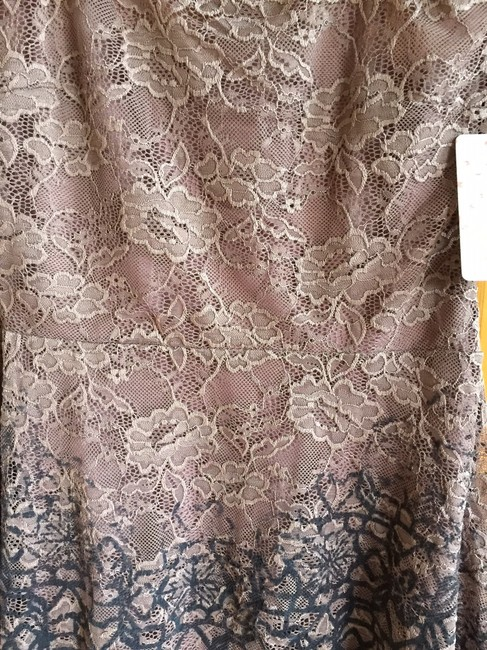 Free People Flocked Velvet Lace Fit & Flare Size Small Dress Image 5