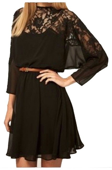 Preload https://item3.tradesy.com/images/black-above-knee-night-out-dress-size-6-s-1953132-0-0.jpg?width=400&height=650