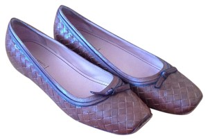 Bottega Veneta Brown Flats