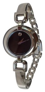 Movado MOVADO VIVO Silver/Black Ladies Watch