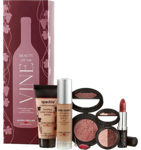 Laura Geller Beauty Off The Vine Anti Aging Beauty 6pc Collection Med Deep
