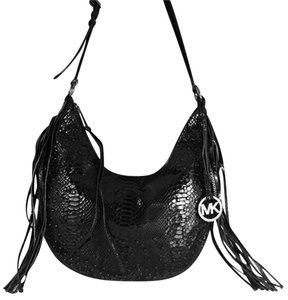 Michael Kors Fringe Crystals Hobo Bag