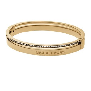 MICHAEL Michael Kors Gold Tone Hinge Bangle (BRAND NEW!!)