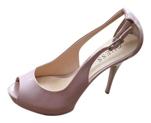 Guess Peep Toe Hidden Platform Heel blush, nude Pumps