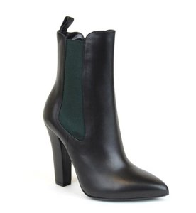 Gucci Heel Ankle 324193 Black Boots