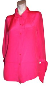 Juicy Couture Button Down Shirt Hot Pink