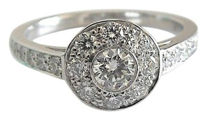 Tiffany & Co. Tiffany & Co. Circlet .64ct Diamond Platinum Engagement Ring $4,800