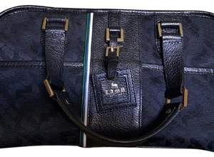 L.A.M.B. Tote Satchel in Black