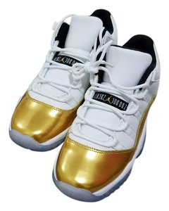 Air Jordan Gold and white Athletic