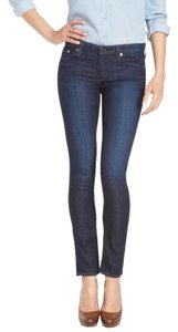 AG Adriano Goldschmied The Stilt Cigarette Skinny Skinny Jeans-Dark Rinse