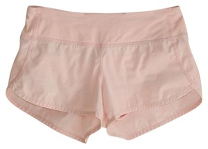 Lululemon Pink Metallic Light Runner With Attached Slip Activewear Bottoms Size 4 S 27 Tradesy