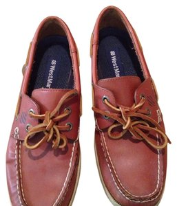 West Marine boat shoes Tan Flats