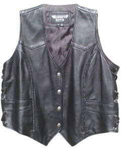 Biker's Club Biler's Leather Vest