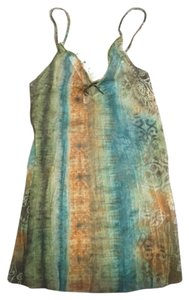 Express Top Green, Blue, Brown