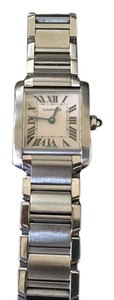 Cartier Authentic ladies small Tank Francaise watch , Style 2384