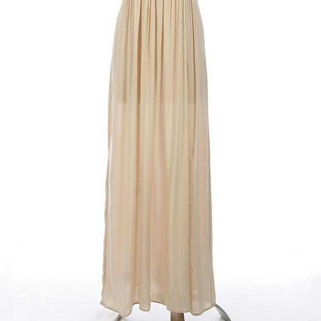 Beige Maxi Dress by Other Image 1