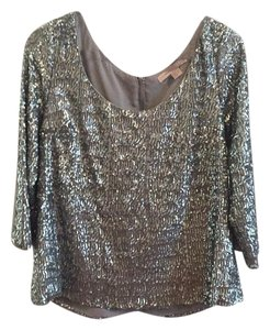 Forever 21 Top Metallic