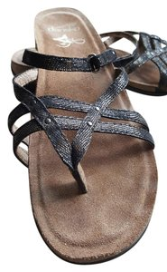 Dansko Comfort Black, brown, Coffee Swirl Sandals