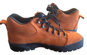 Cole Haan Suede Comfortable Rubber Sole Narrow Orange Boots