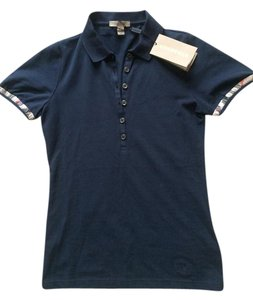 Burberry Made In Turkry T Shirt Navy