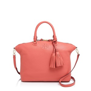 Tory Burch Satchel in Spiced Coral