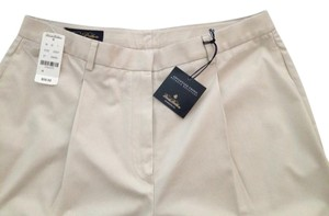 Brooks Brothers Size 10 100% Cotton Trouser Pants khaki (light beige)
